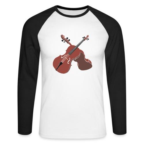 Cello - Men's Long Sleeve Baseball T-Shirt