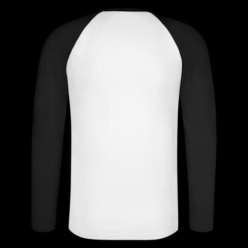 Crystal With Wings WGDK Hvid - Langærmet herre-baseballshirt