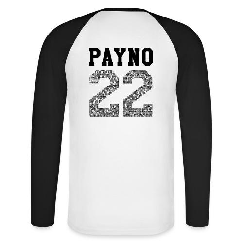 hoodfin png - Men's Long Sleeve Baseball T-Shirt
