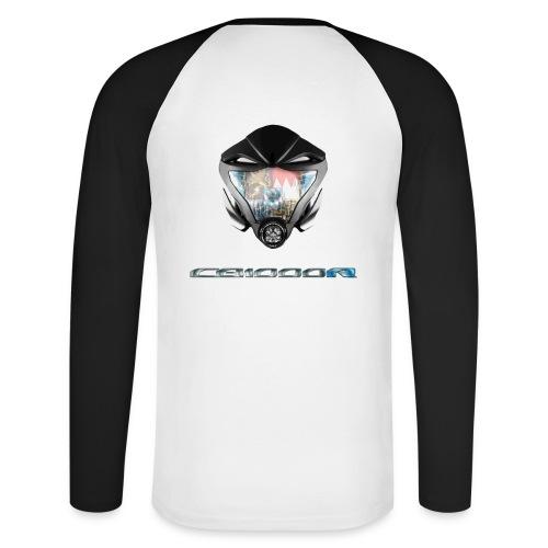 CB1000R Maske BR - Männer Baseballshirt langarm