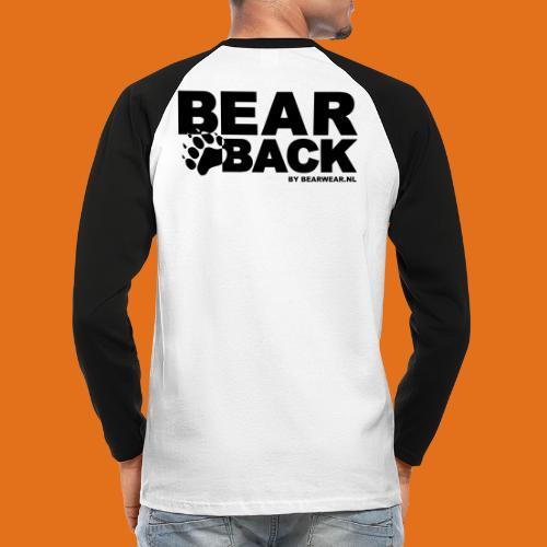 bearback new - Men's Long Sleeve Baseball T-Shirt