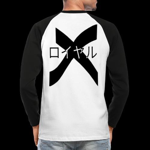 x royal - T-shirt baseball manches longues Homme