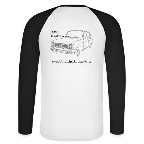 profil - T-shirt baseball manches longues Homme