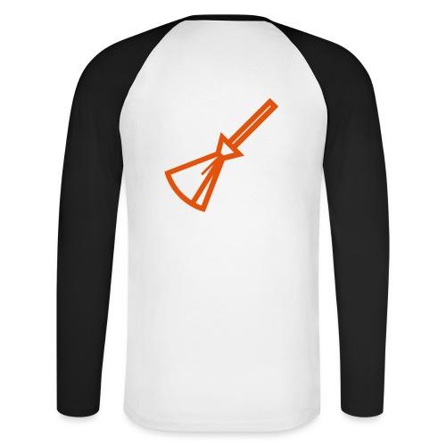 Balais Balais Wiccan Wicca ! - T-shirt baseball manches longues Homme