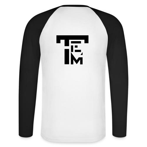 TEM BLACK - T-shirt baseball manches longues Homme