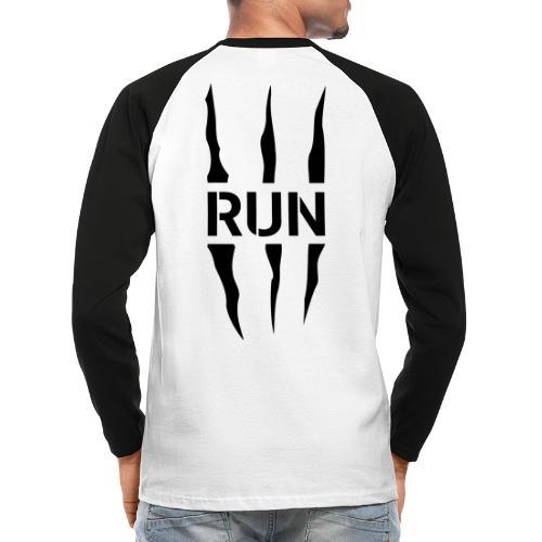 Run Scratch - T-shirt baseball manches longues Homme