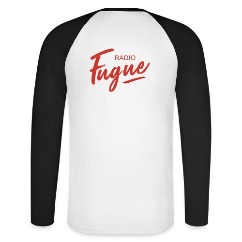 Radio Fugue Red - T-shirt baseball manches longues Homme