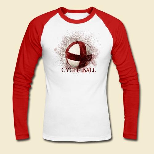 Radball | Cycle Ball - Männer Baseballshirt langarm