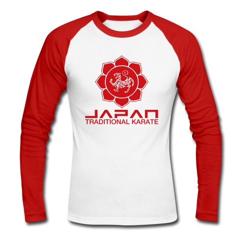 Japan Karate Shotokan - Men's Long Sleeve Baseball T-Shirt