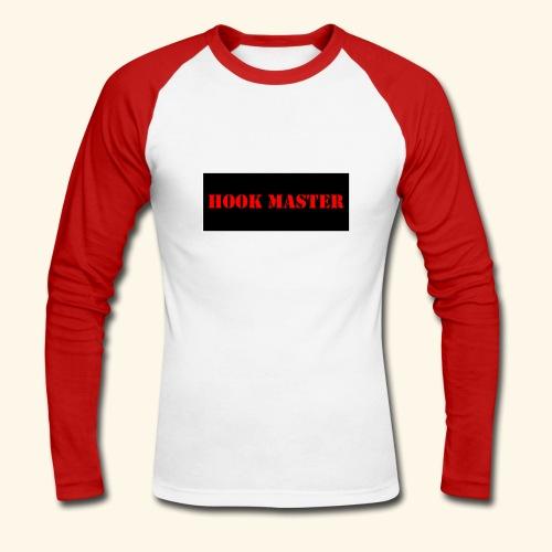 hook master - T-shirt baseball manches longues Homme