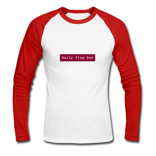 logo - Men's Long Sleeve Baseball T-Shirt