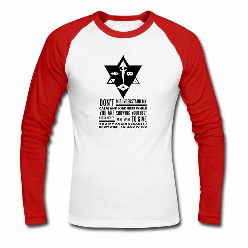 The Unordinary - Langærmet herre-baseballshirt