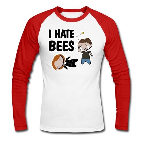 x files i hate bees - Raglán manga larga hombre