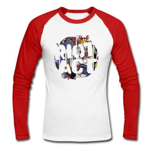 Venn Diagram - Men's Long Sleeve Baseball T-Shirt