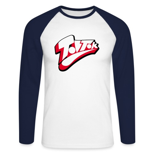 keepcalmTOBTOK2 copy png - Men's Long Sleeve Baseball T-Shirt