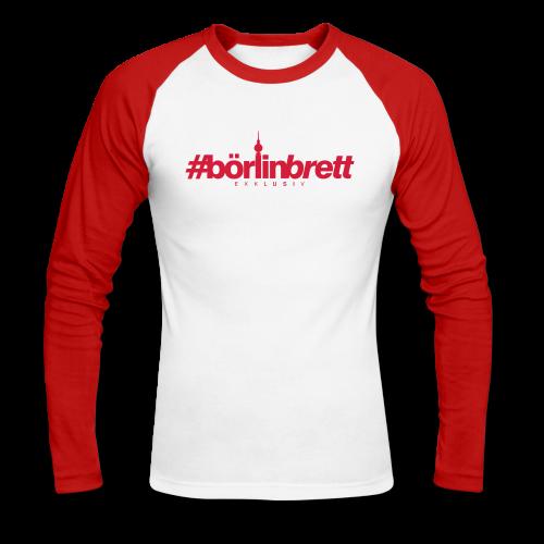 börlinbrett - Männer Baseballshirt langarm
