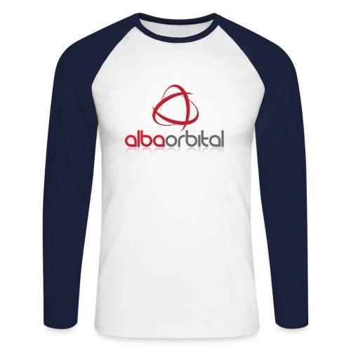 Alba Orbital's Offical Logo - Men's Long Sleeve Baseball T-Shirt