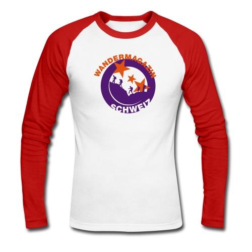 button kleider2 - Männer Baseballshirt langarm