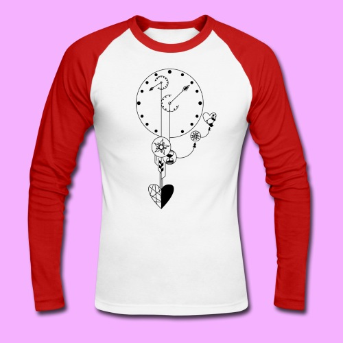 L'amour - T-shirt baseball manches longues Homme