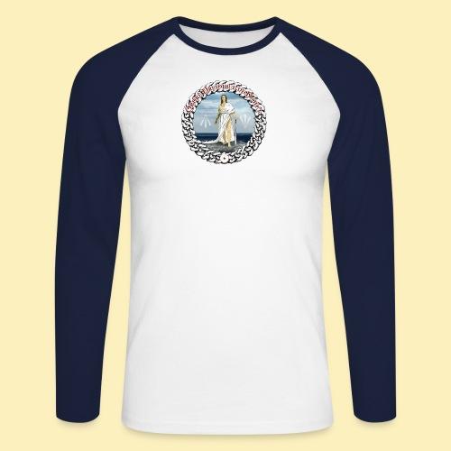 Ordre Druidique de Dahut Logo - T-shirt baseball manches longues Homme