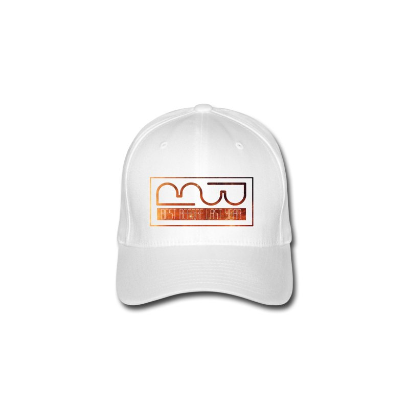 Cap logo Orange - Flexfit Baseball Cap