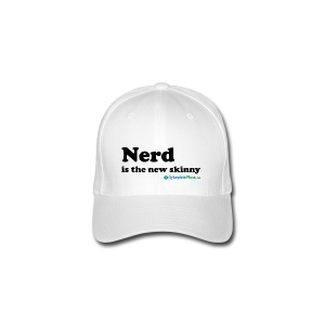 Nerd is the new skinny! - Flexfit baseballcap
