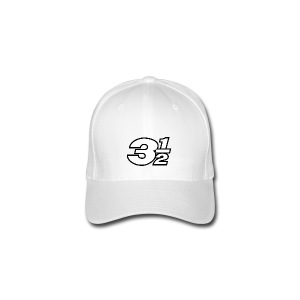 Three and a Half Logo - Flexfit Baseball Cap