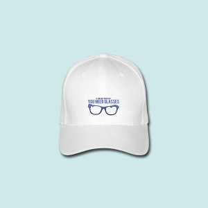 Need Glasses - Blue - Casquette Flexfit