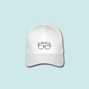 Need Glasses - Black - Casquette Flexfit