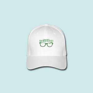 Need Glasses - Green - Casquette Flexfit
