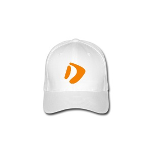 Logo D Orange DomesSport - Flexfit Baseballkappe