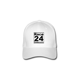 Race24 logo in black - Flexfit Baseball Cap