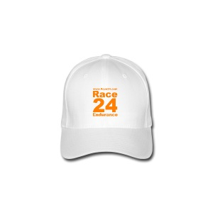 Race24 Logo in Orange - Flexfit Baseball Cap