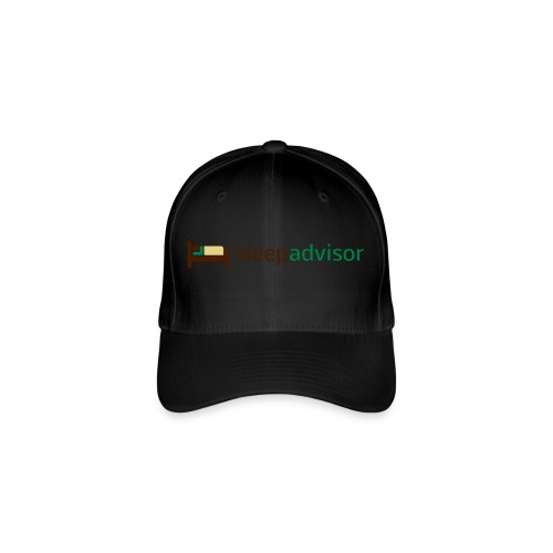 SleepAdvisor - Cappello con visiera Flexfit