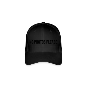 No Photos Please - Flexfit Baseballkappe