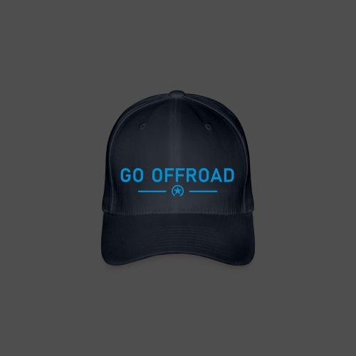 idź off-road - Czapka z daszkiem flexfit