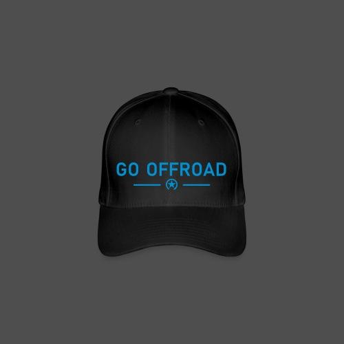 go offroad - Czapka z daszkiem flexfit