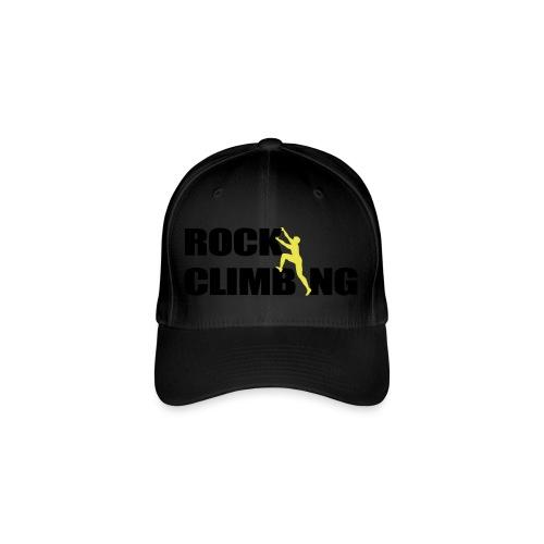 Rock Climbing Climber Klettern - Flexfit Baseballkappe