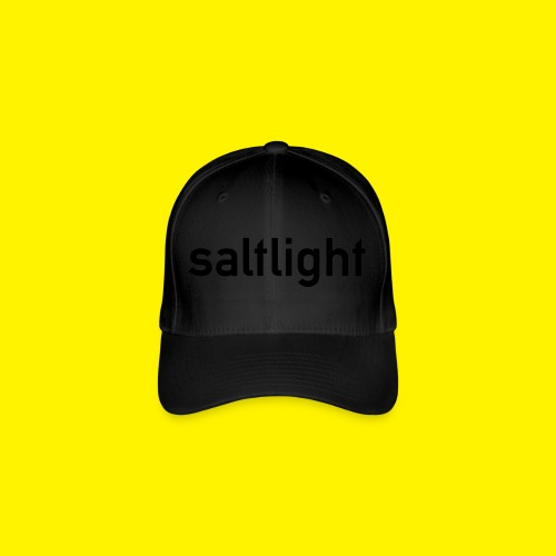 Saltlight // Black - Black - Flexfit Baseball Cap