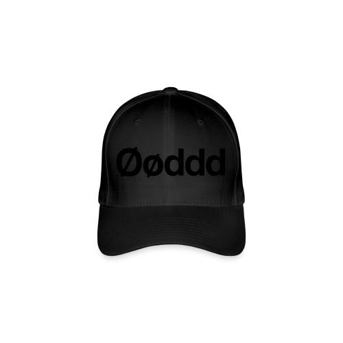 Øøddd (sort skrift) - Flexfit baseballcap