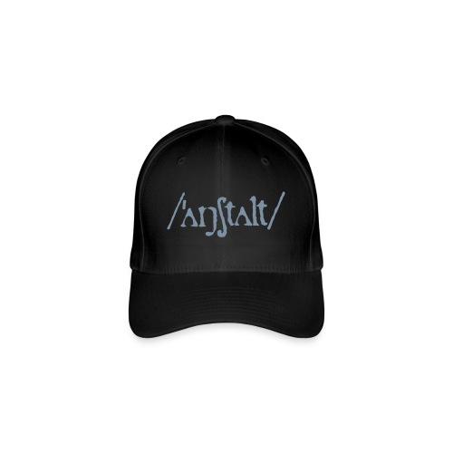 /'angstalt/ logo - Flexfit Baseballkappe