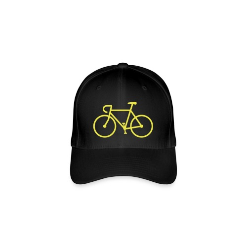 Fahrrad Bike Rennrad Bicycle Singlespeed Fixie - Flexfit Baseballkappe