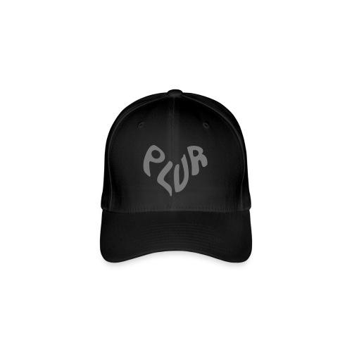 Peace Love Unit Respect PLUR - Flexfit Baseball Cap