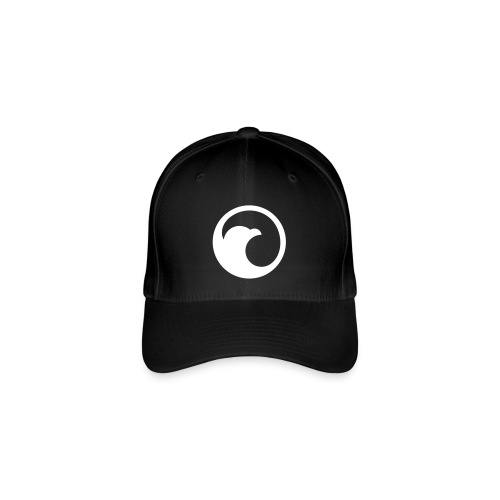 VG Circle Logo Black vect - Flexfit Baseball Cap