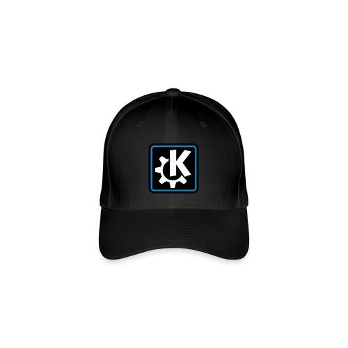 k logo bluish - Flexfit Baseball Cap