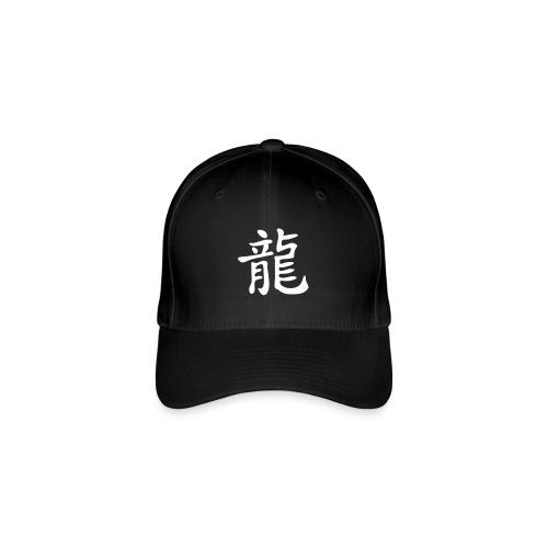Chin. Schriftzeichen für DRACHE / DRAGON - Flexfit Baseballkappe