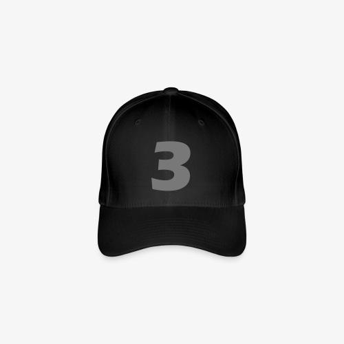 3_Logo - Flexfit baseballcap