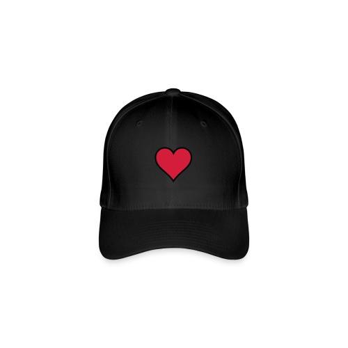 Outline Heart - Flexfit Baseball Cap