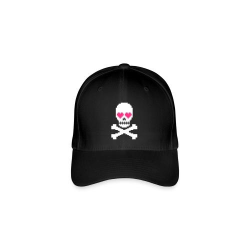 Skull Love - Flexfit baseballcap