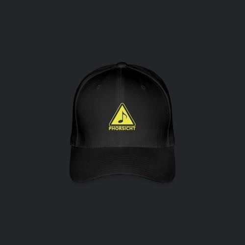 Pulli-schwarz-hinten - Flexfit Baseballkappe